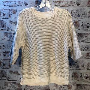 Boxy, chunky, J.Crew shorts sleeve sweater medium
